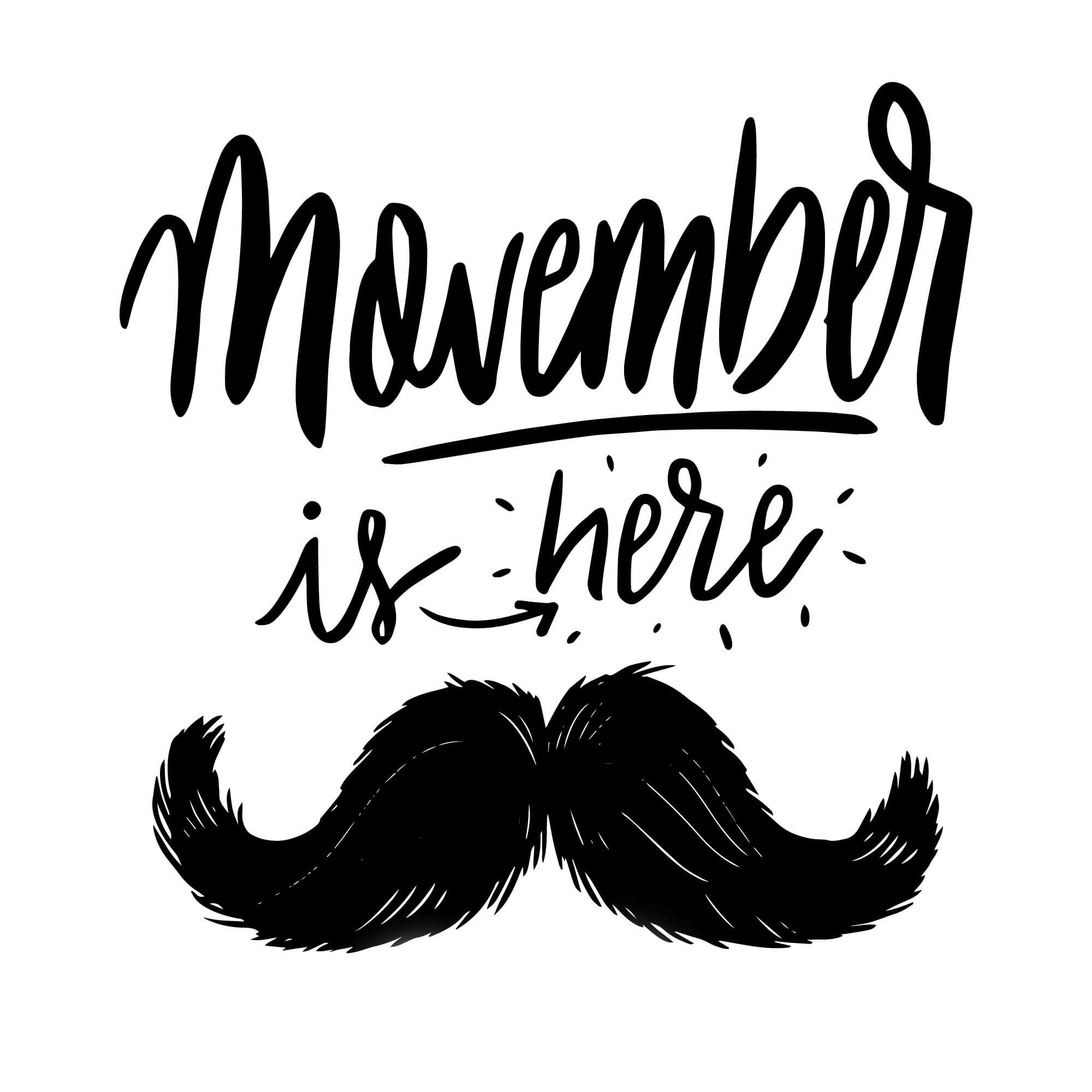 Photo of Movember is Here!!