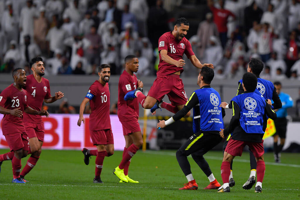 Photo of Congratulations to Qatar for making it to the finals!