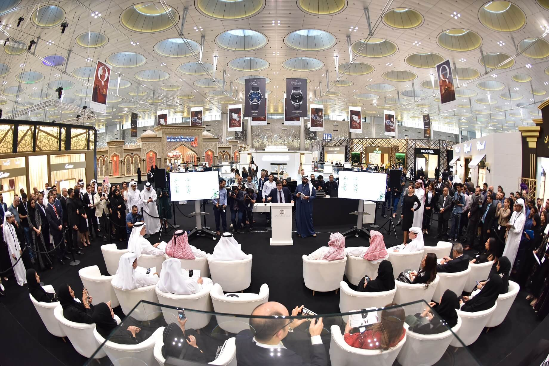 Photo of Doha Jewellery and Watches Exhibition Contributes to Empowering Young Innovators through Young Qatari Designers Initiative