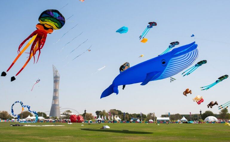 Photo of 3rd edition of International Kite Festival at Aspire starts today!