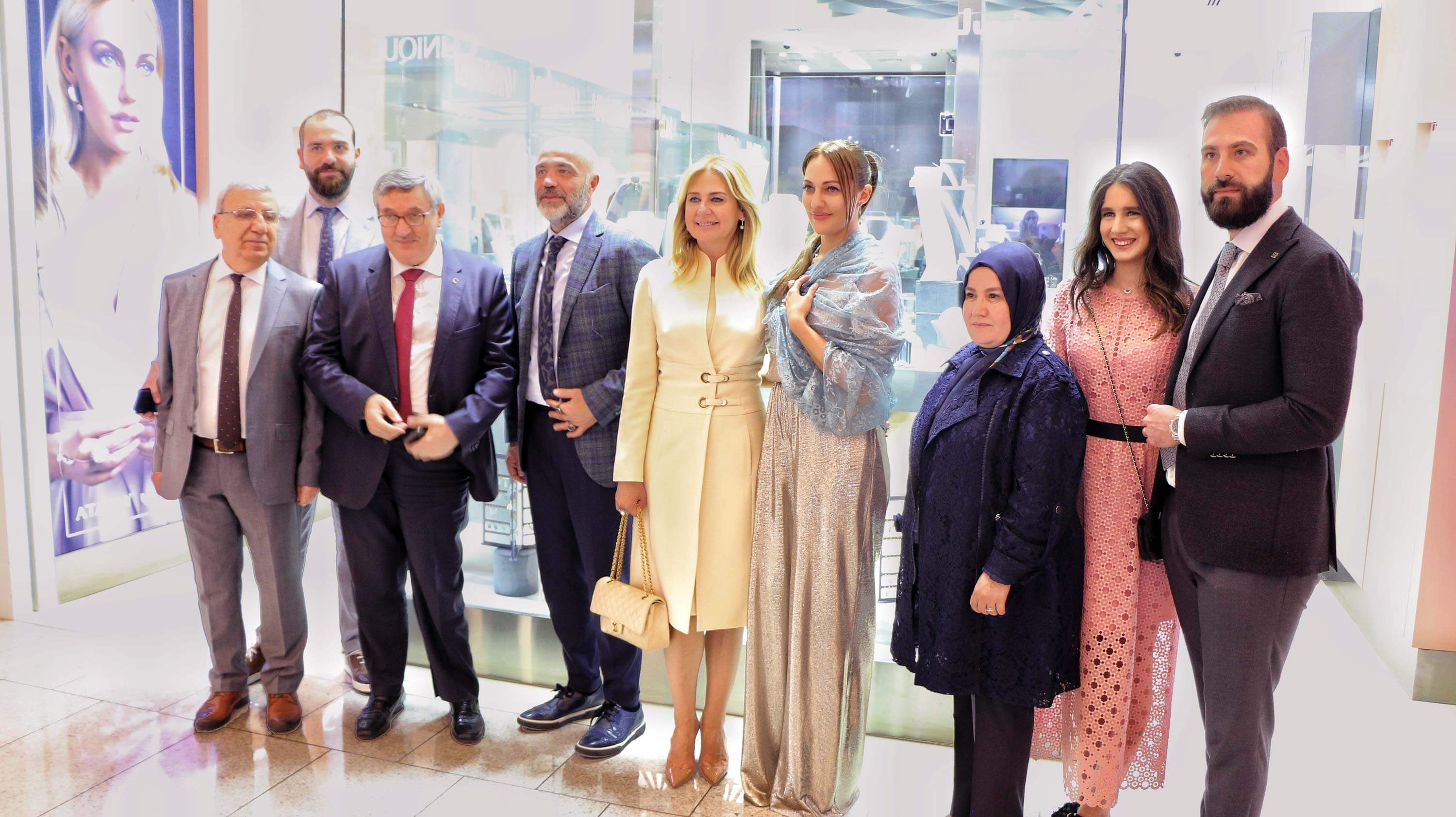 Photo of TURKEY'S BIGGEST JEWELRY CHAIN ATASAY OPENS AT DOHA FESTIVAL CITY  WITH A QATAR EXCLUSIVE CAPSULE COLLECTION