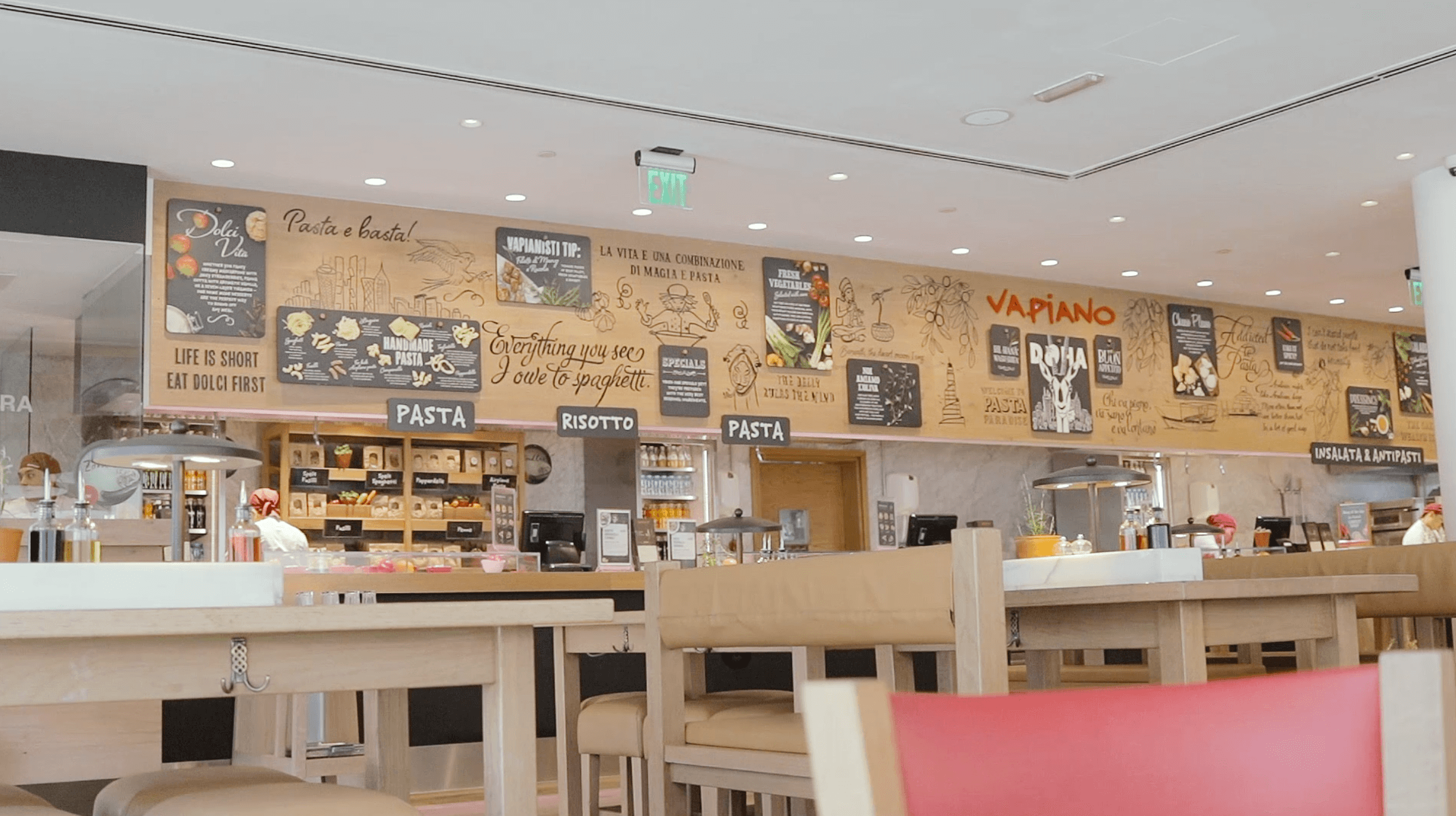 Photo of Make yourself at home in Vapiano