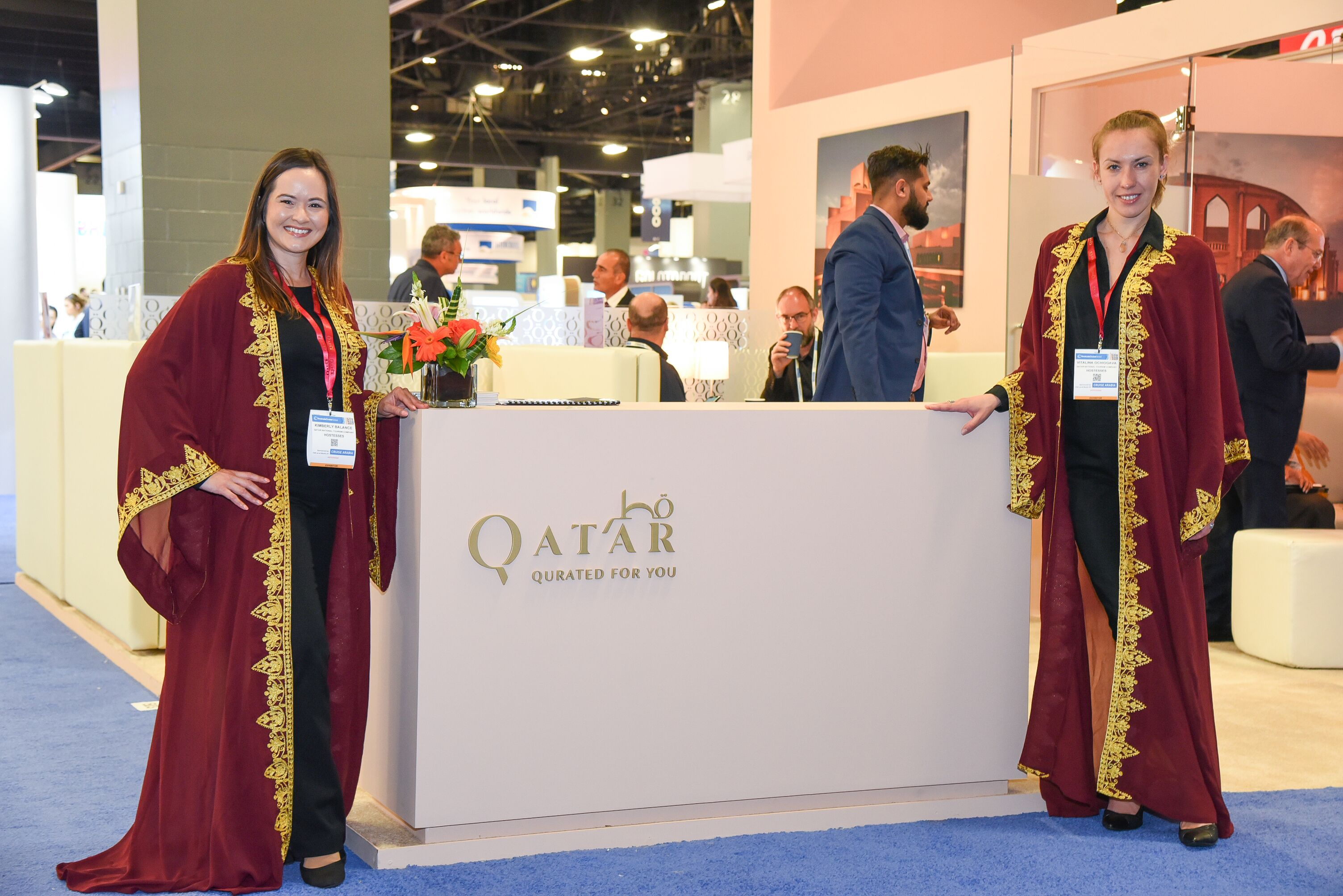 Photo of Qatar active in Seatrade Cruise Expo & Conference in Miami