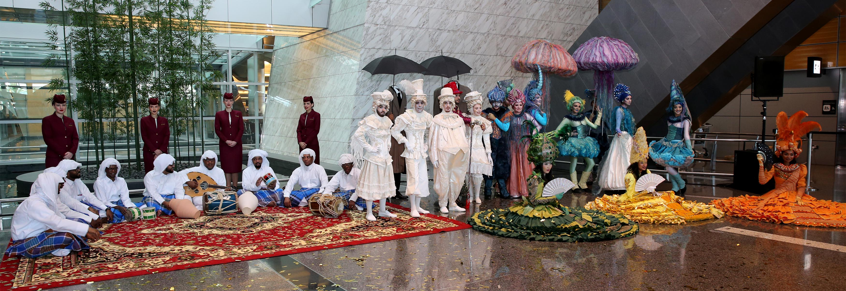 Photo of Hamad International Airport Terminal Hosts 'Summer in Qatar'