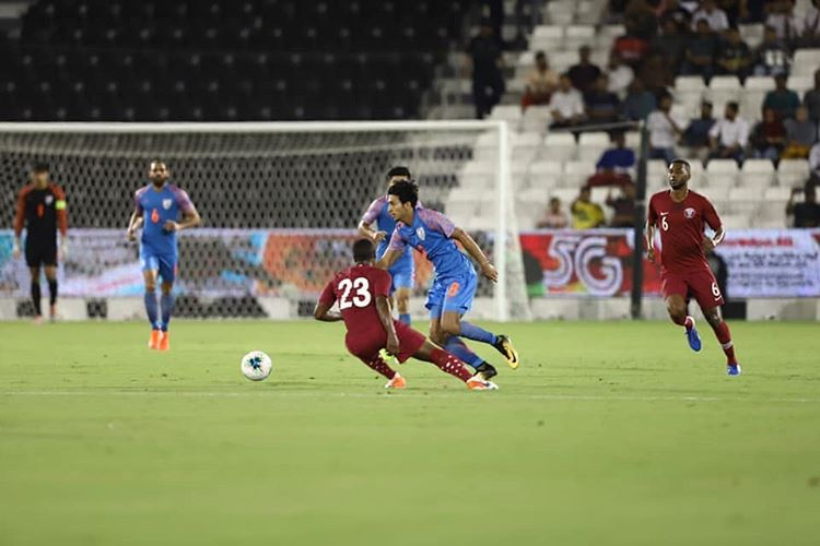 Photo of Qatar Vs India match draws 0-0