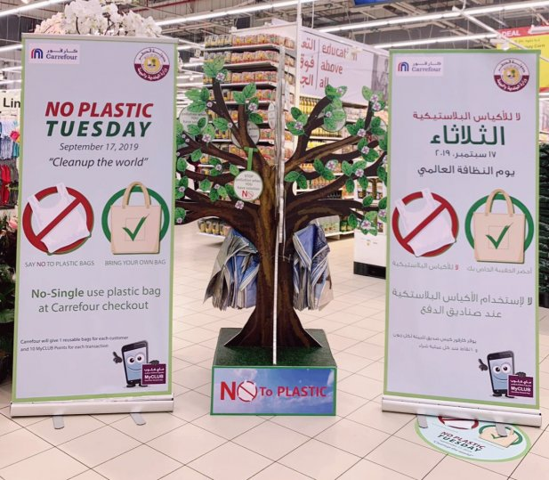"""Photo of Ministry & Carrefour in Qatar launches """"No Plastic Tuesdays"""""""