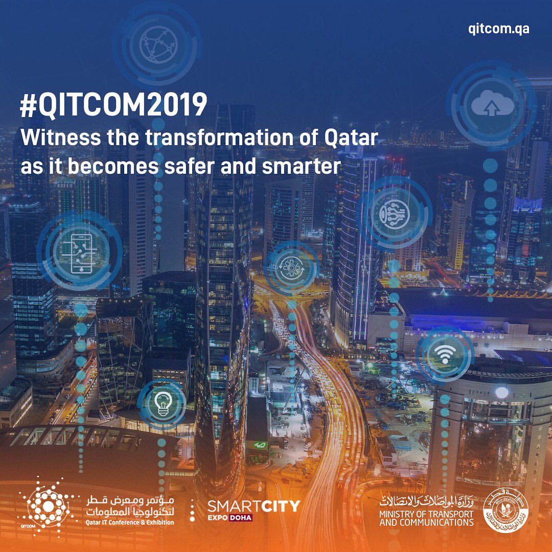Photo of MoTC Launches the First Edition of Smart City Expo Doha During QITCOM 2019