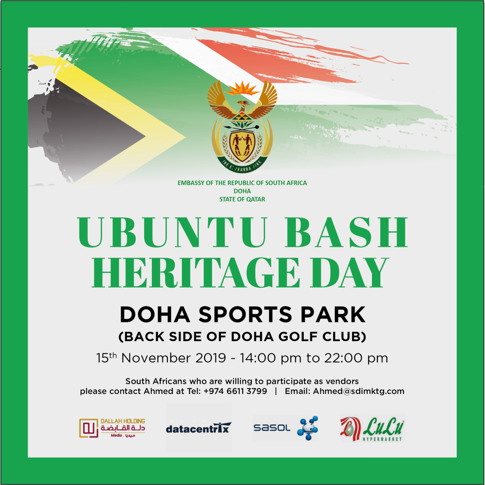Photo of Celebrating South African Heritage Day with Ubuntu Bash