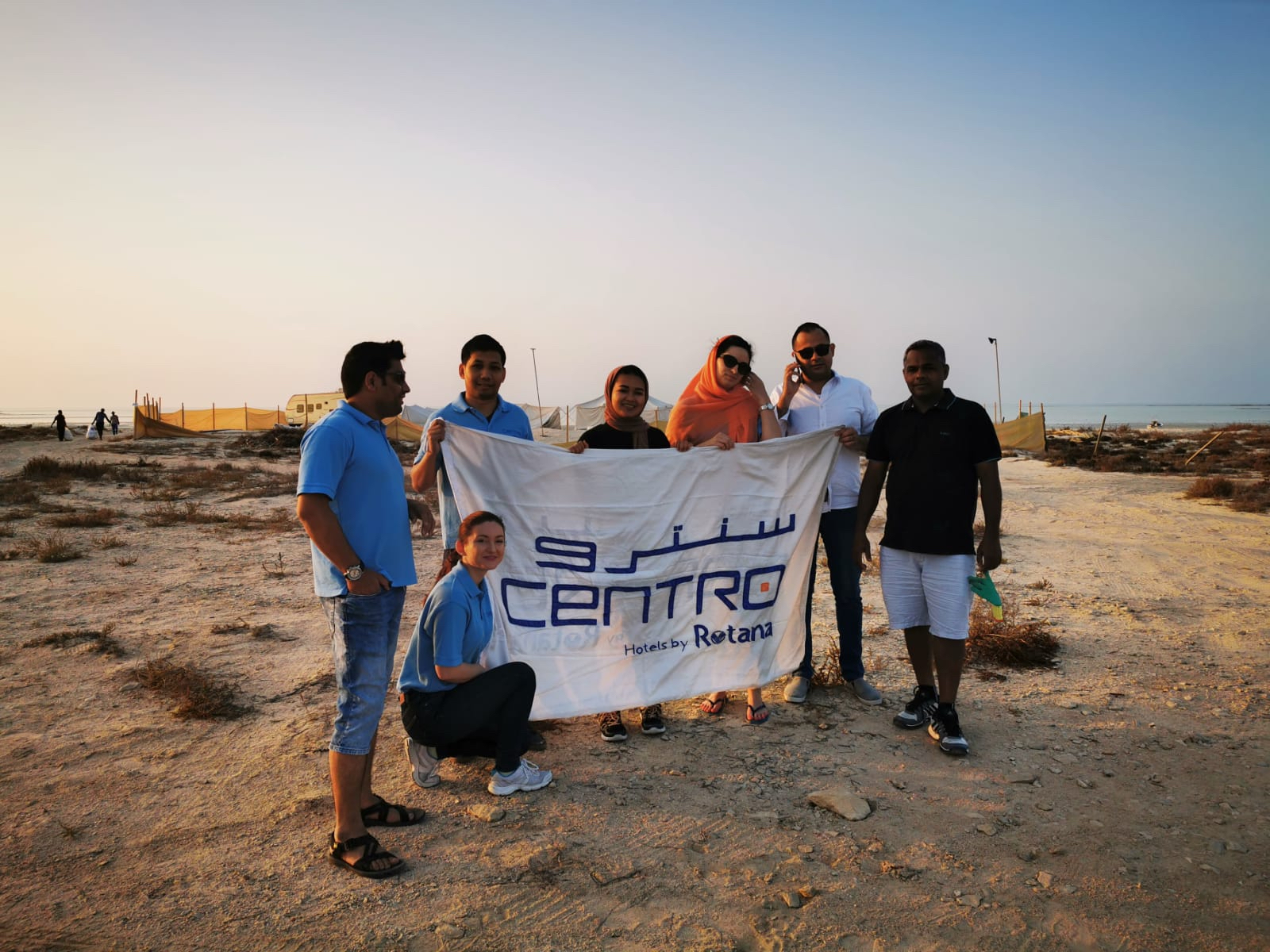 Photo of Centro Capital Doha Joins DEAP Qatar for Beach Cleanup Activity
