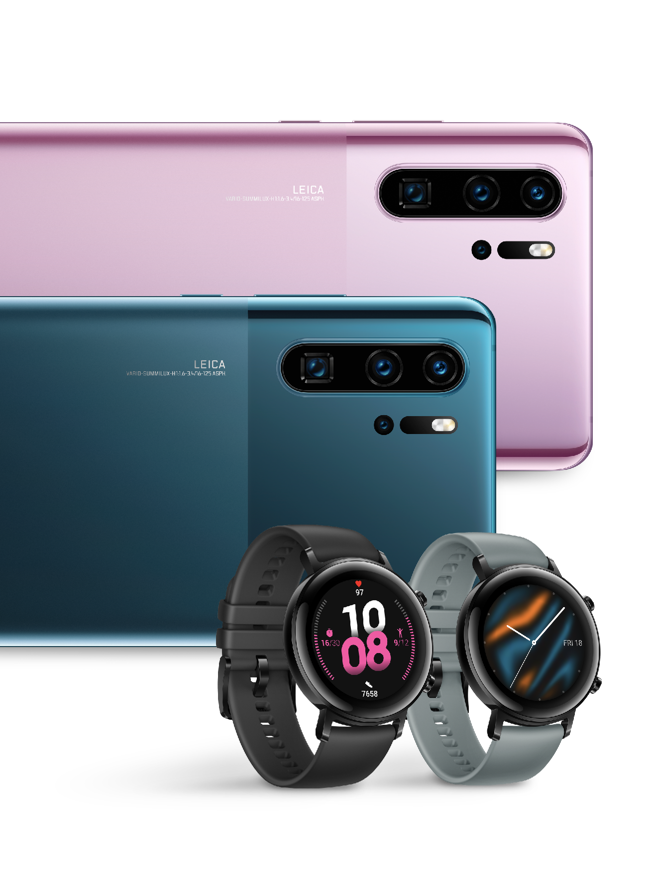 Photo of New Dazzling Colors Of The Huawei P30 PRO And The Stylish Watch GT 2 42MM Coming To Qatar