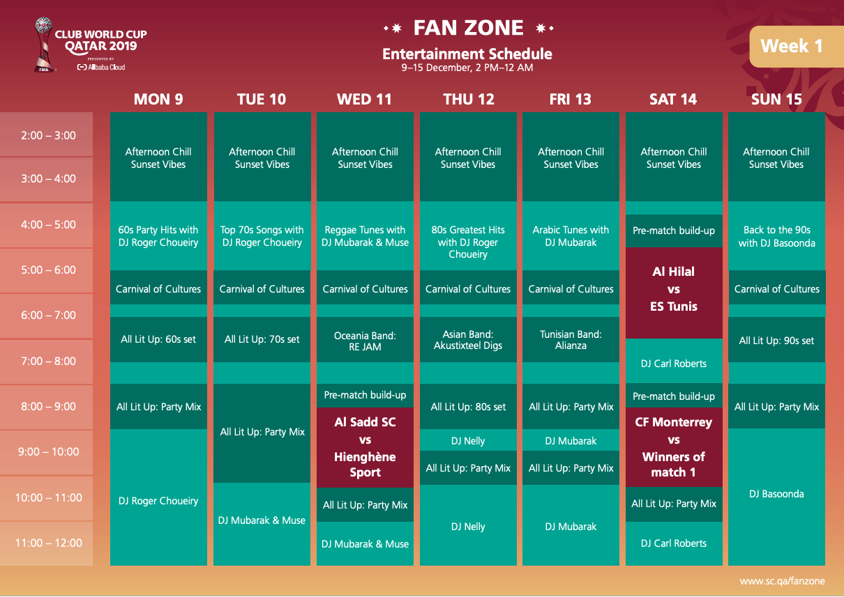 FIFA Club World Cup™ Fan Zone