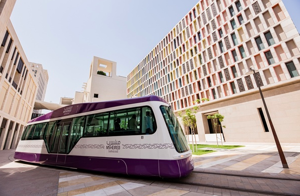 Photo of Msheireb Tram Brings An Additional Beauty To Msheireb Downtown