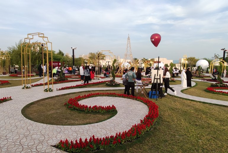Photo of Five Floral Themed Gardens Add Colour to Katara Hills