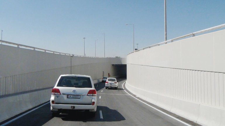 Photo of Ashghal Opens Fourth Underpass at Mesaimeer Interchange