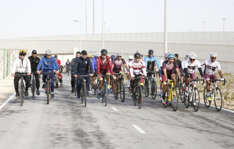 Photo of Prime Minister Opens Olympic Cycling Lane