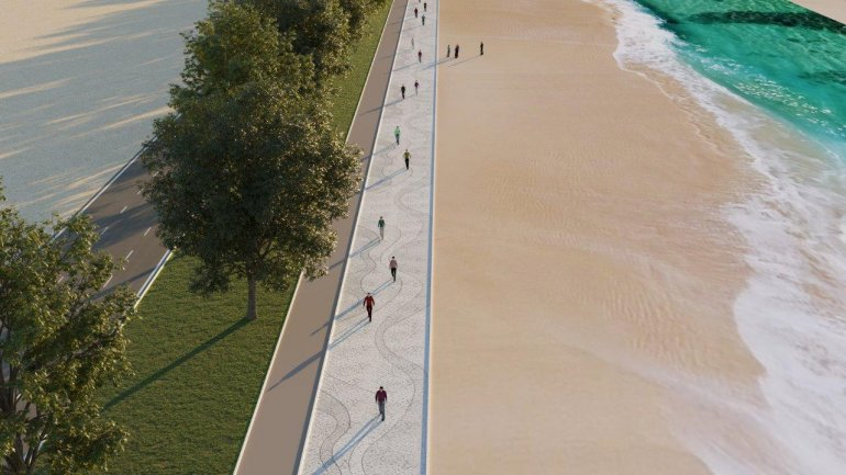 Photo of Ras Bu Abboud Beach Development Project Begins