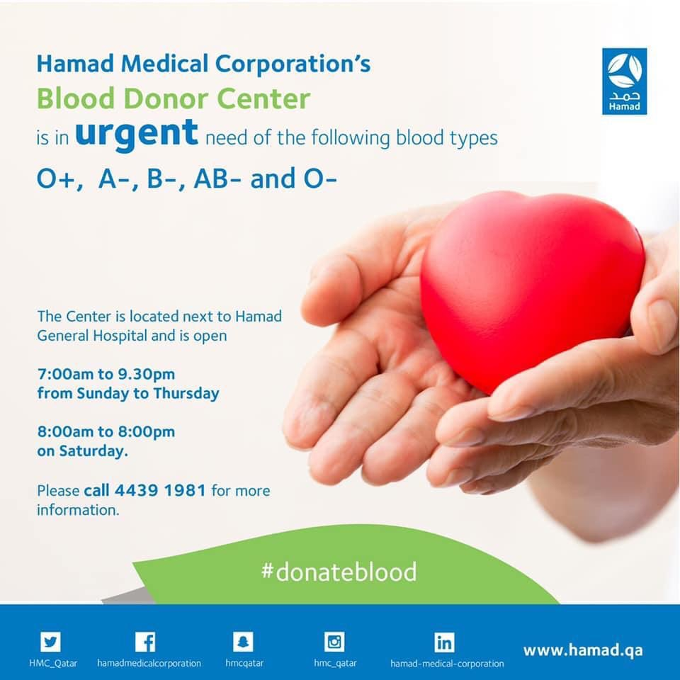 Photo of HMC In Need For Blood Donors