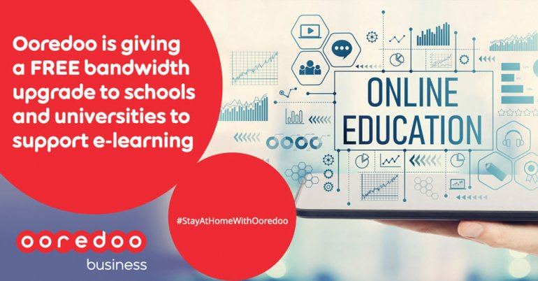 Photo of Ooredoo Offers Free Bandwidth Upgrade For Educational Customers
