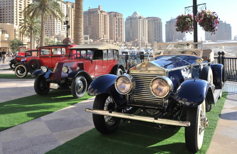 Photo of The Pearl-Qatar hosts first 'Qatar Classic Cars Contest & Exhibition 2020'