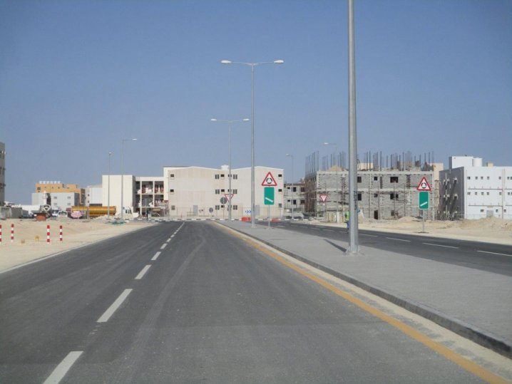 Photo of Ashghal Completes Infrastructure At West Umm Slal Workers Complex