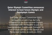 Photo of Qatar Olympic Committee Announces Interest To Host Future Olympic And Paralympic Games
