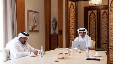 Photo of HH The Amir Participates In 136th International Olympic Committee Session