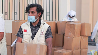 Photo of 500 Coronavirus-Hit Families Receive Food Baskets From Qatar Charity