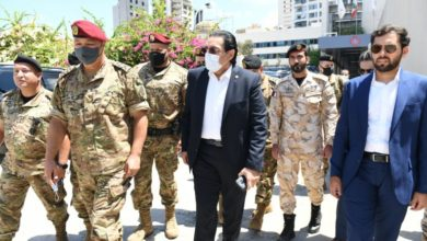 Photo of Commander Of Lebanese Armed Forces Visits Qatar's Field Hospital In Beirut