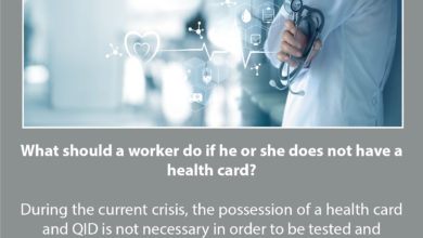 Photo of Labour Ministry: Health Card And QID Not Necessary For Workers To Be Tested And Receive Treatment