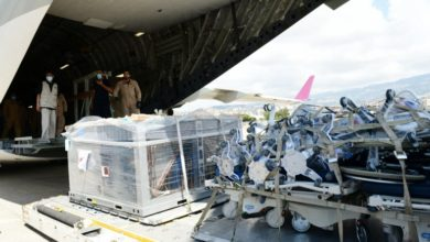 Photo of Shipment Of Medical Equipment For Qatar's Field Hospitals Arrives In Beirut