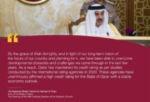 Photo of HH Amir Sheikh Tamim's Speech At The Opening Of The 49th Advisory Council Session