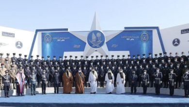 Photo of HH The Amir Sheikh Tamim Attended Graduation Ceremony Of Third Batch Of Police College Students