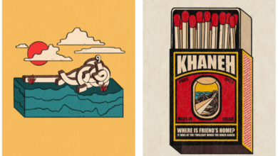 Photo of VCU Students' Artwork Selected in '100/100 Hundred Best Arabic Posters'