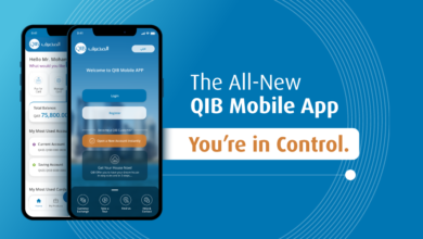 Photo of QIB Launches New Version Of Its Mobile App