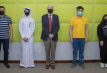 Photo of QF poster competition to encourage youth STEM engagement