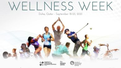Photo of Marriott International launches dedicated Wellness Week across its Hotels & Resorts in Doha from September 18-23, 2021