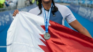 Photo of Sheikha Hind bint Hamad Al-Thani  completes her first Olympic distance triathlon