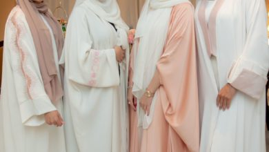 Photo of LOVAH BY FATIMA: HOMEGROWN AND HANDCRAFTED, LIMITED EDITION ABAYAS LAUNCHED IN COLLABORATION WITH FOUR OF QATAR'S PROMINENT FEMALE FIGURES TO SUPPORT BREAST CANCER AWARENESS MONTH.